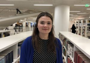 Project researcher Tuuli Lipiäinen