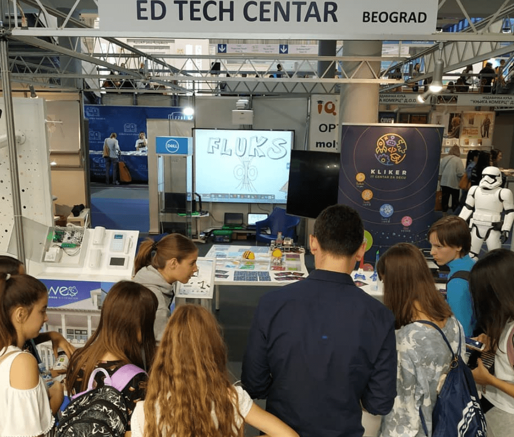 EdTech center at the Education and Teaching Aids Fair, October 2019