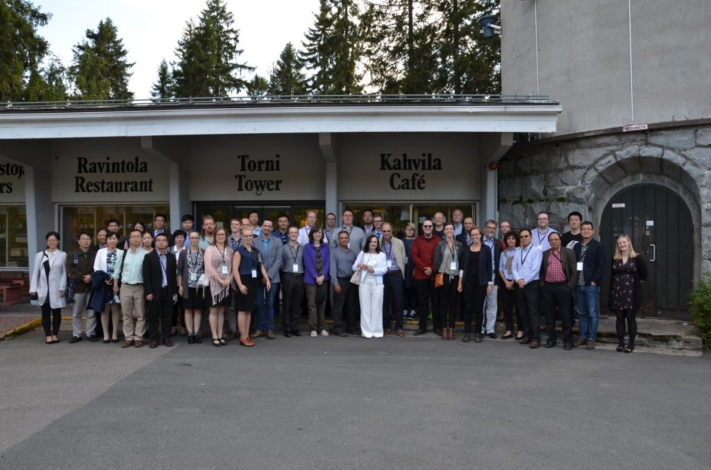 Participants of 2nd IIES workshop in Kuopio.