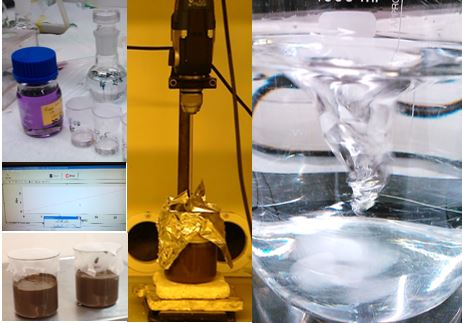 Spiking the sediment with fullerene nanoparticles.