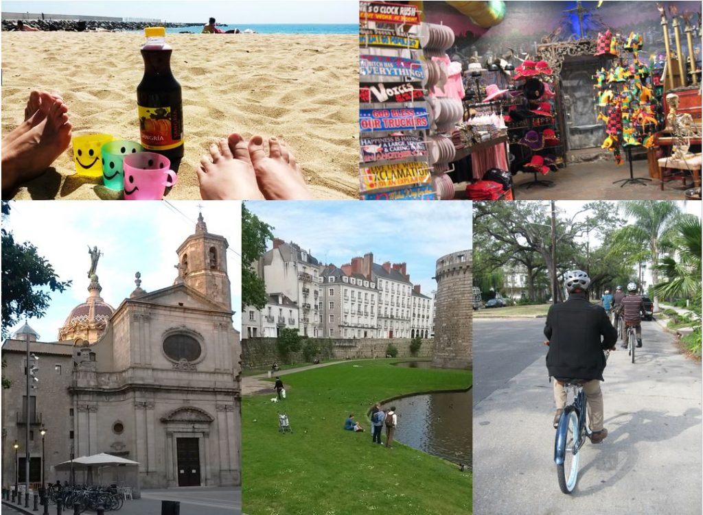 There should always be time to relax during your conference trip! Photos by Kaisa Figueiredo and Kristiina Väänänen.