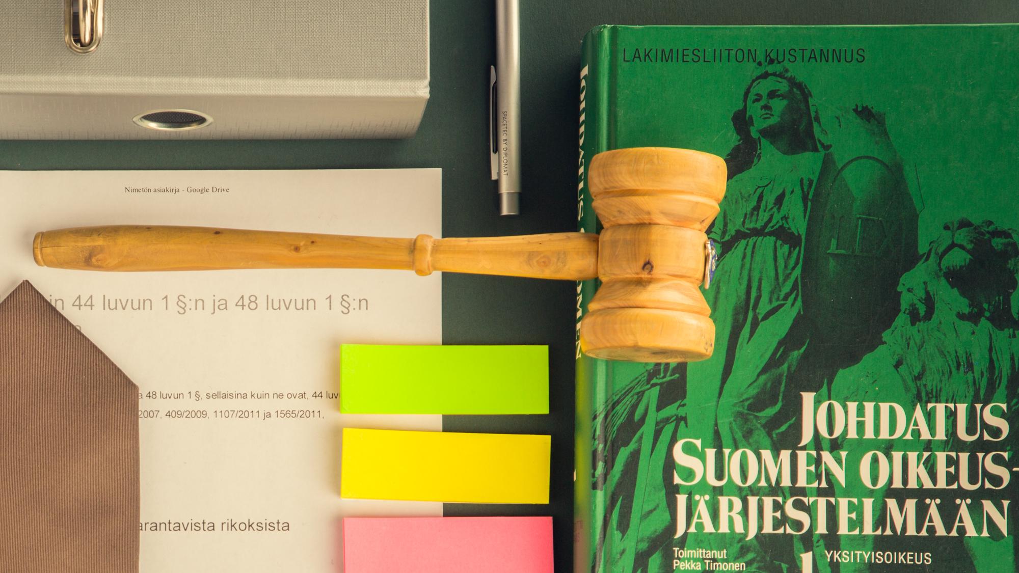 Aducate esitutkinta oikeustiede