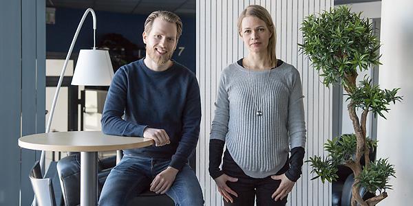 Photo of Miro Harjumäki ja Tuula Räisänen