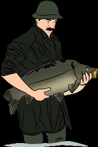 Kalastaja ja suuri kala