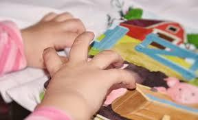 Lapsen kädet