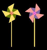Kaksi tuulihyrrää