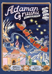 Adaman gruunu -kirjan kansikuva