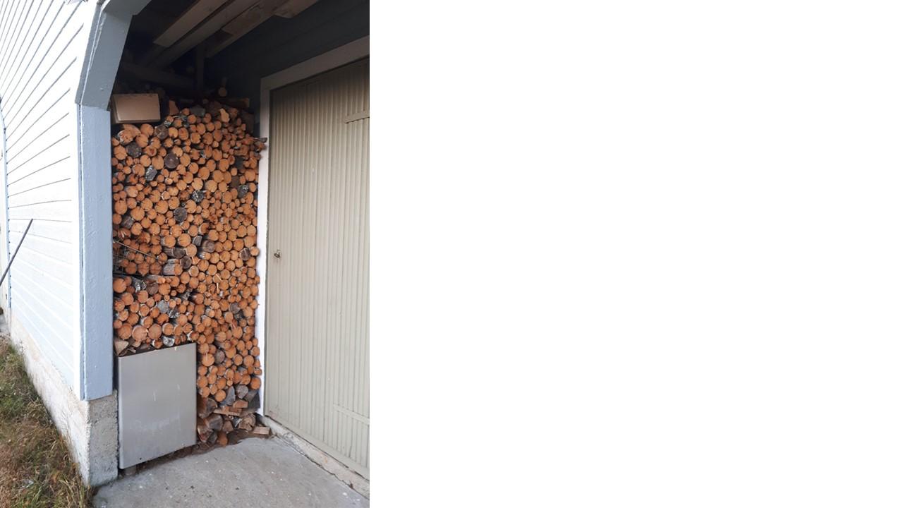 halkopino puuliiterissä