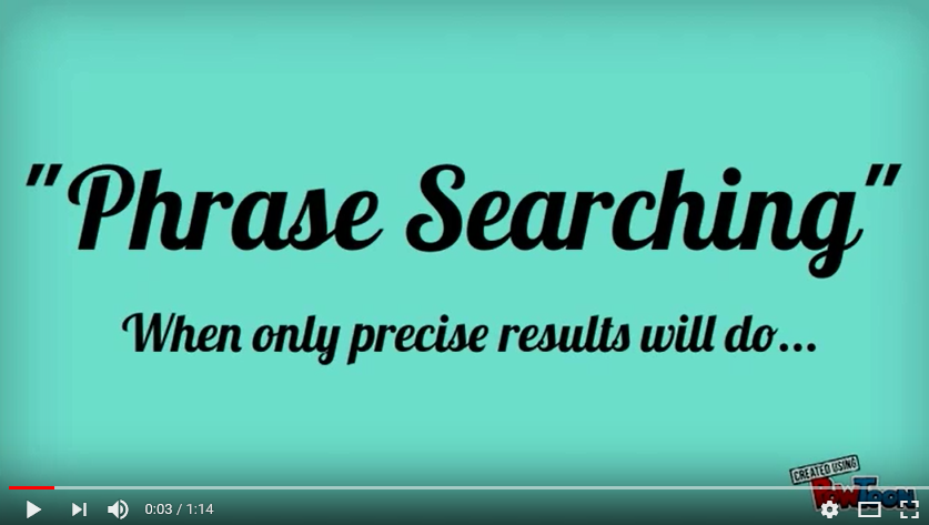 phrase_searching
