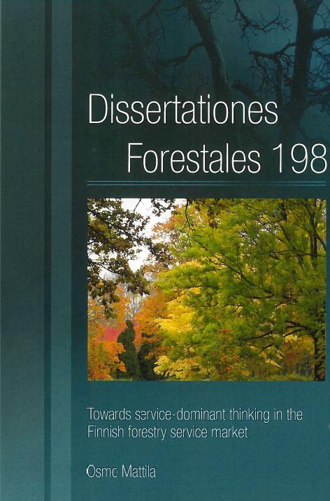 Kotimaiset metsätieteen väitöskirjat ilmestyvät yleensä tässä sarjassa.