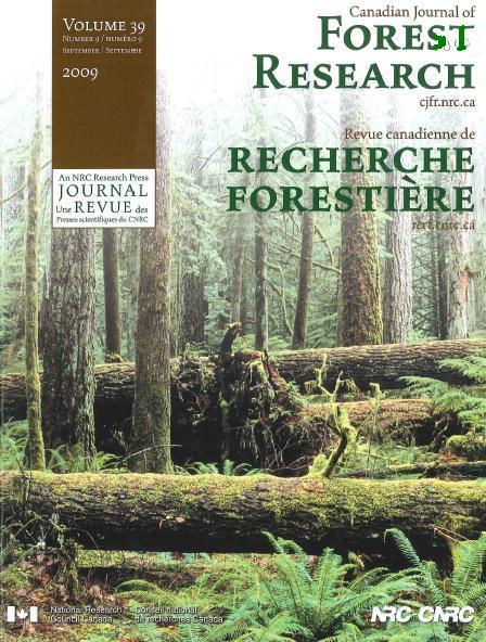 Tieteellinen metsäalan lehti