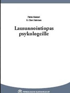 Kirjan kansi: Lausunnointiopas psykologeille.