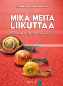 Kirjan kansi: Mikä meitä liikuttaa.