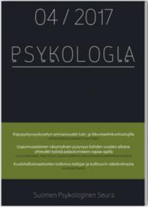 Psykologia-lehden kansi.
