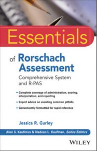 Kirjan kansi: Essentials of Rorschach Assessment.