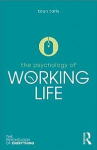 Kirjan kansi: The psychology of working life.