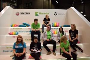 Savonian, Karelian ja UEFin edustajat