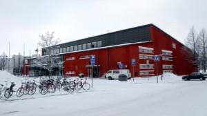 Joensuun urheilutalo ydinkeskustan kupeessa. Lähde: yle.fi