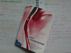 2012 keväällä pääsykoekirjat käsittelivät sosiaalipsykologiaa ja ihmistieteiden filosofiaa. Muistiinpanot ovat yhä tallessa.