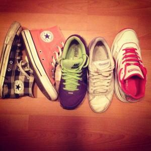 Kunnon kengillä jaksaa tarpoa Joensuun katuja. :)