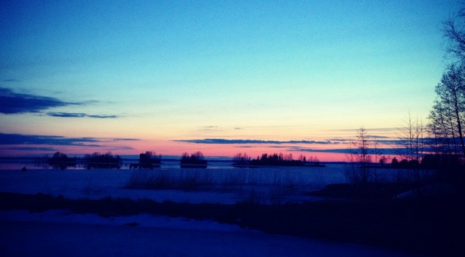 Minä lähden Pohjois-Karjalaan!