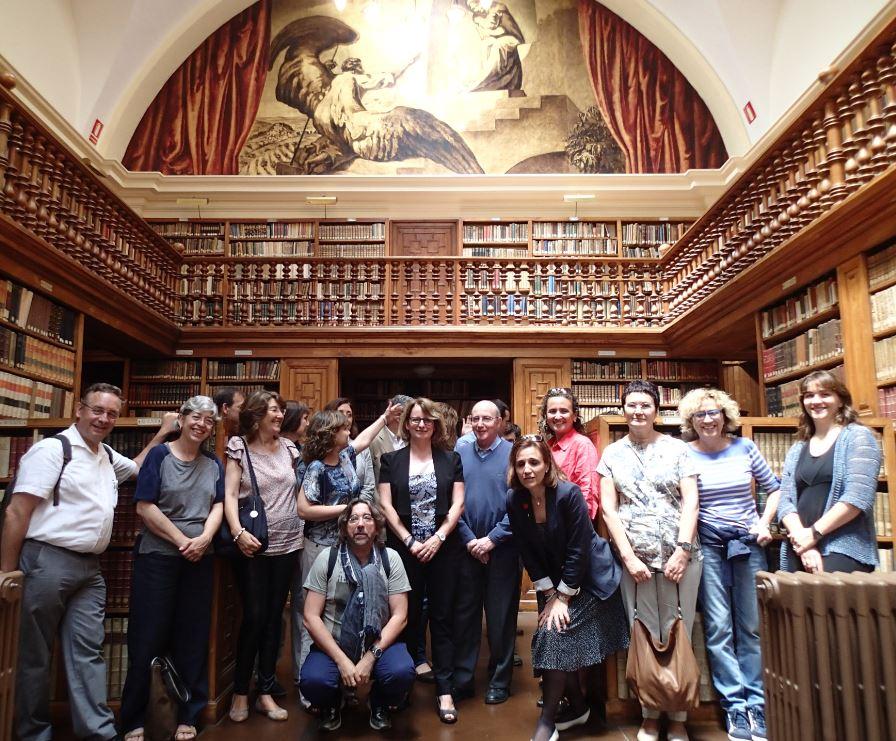 Kirjastokonsortio luostarissa
