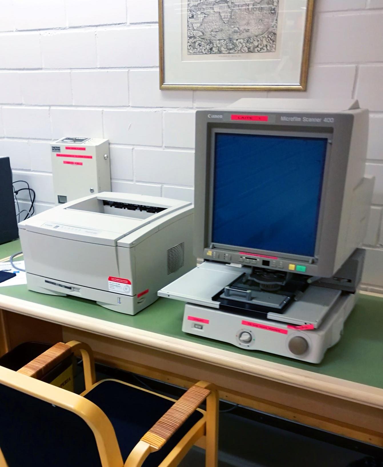 mikrofilmien lukulaite
