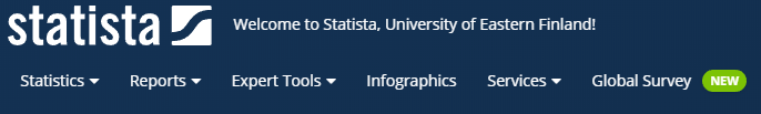 Statista logo. Statista's logo.