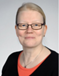 A picture of Marja Kuittinen, a teacher in charge